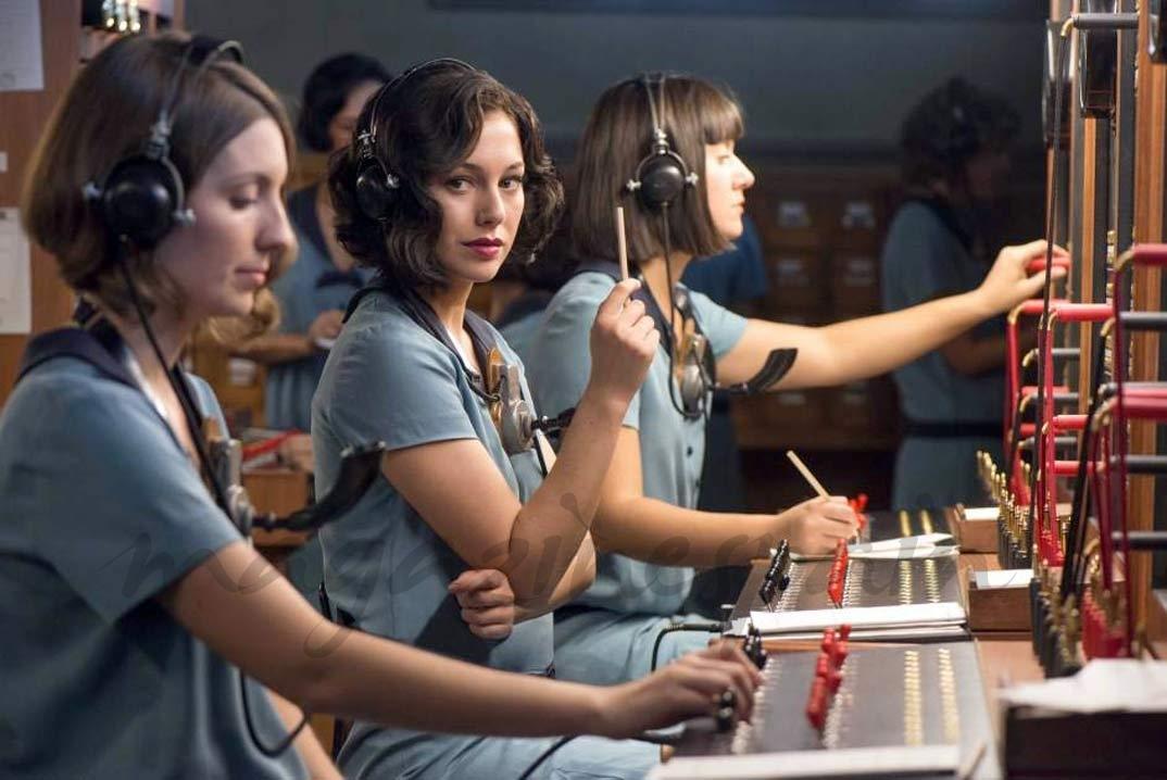 Blanca Suárez - Las chicas del cable © Netflix