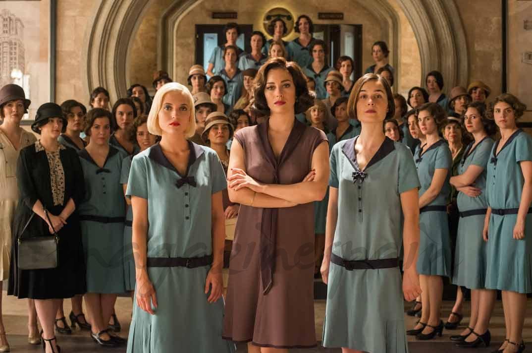 Ana Fernández, Blanca Suárez, Nadia de Santiago - Las chicas del cable - Manuel Fernandez-Valdes/Netflix