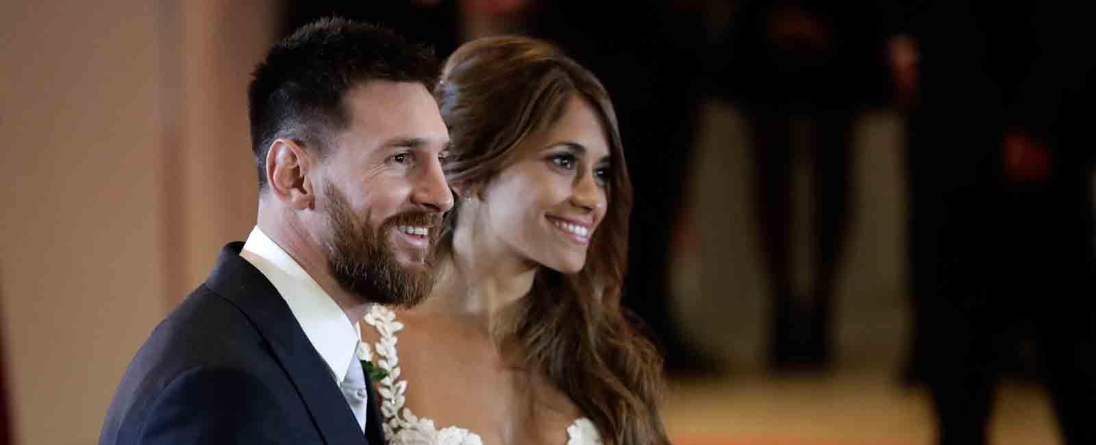 Leo Messi y Antonella Roccuzo se casan en Argentina