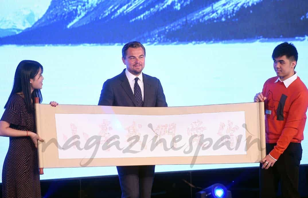 leonardo-dicaprio-en-china presenta the revenant