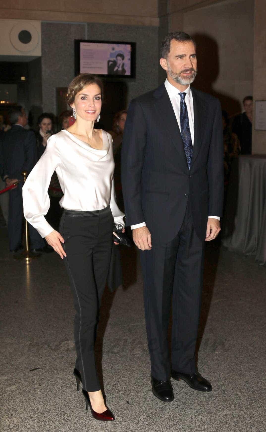 Reyes Felipe y Letizia