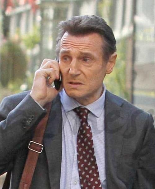 """Liam Neeson, el """"monstruo"""" de Bayona, en Nueva York"""
