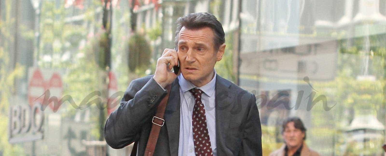 Liam Neeson, el «monstruo» de Bayona, en Nueva York