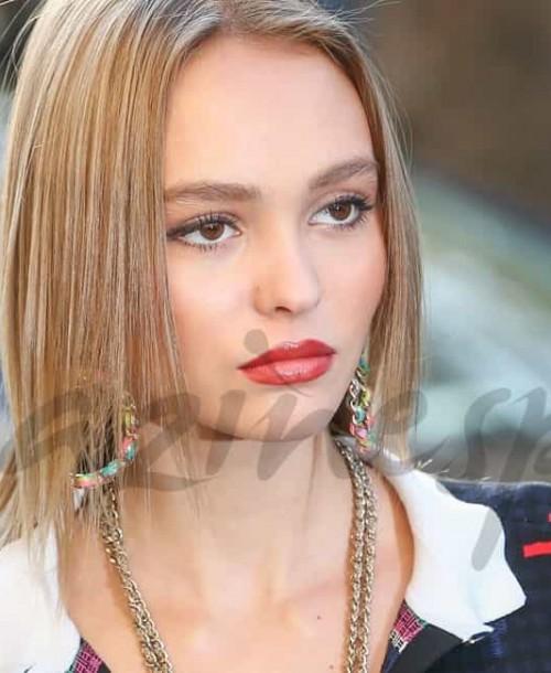 Los secretos del look ultra liso de Lily-Rose Depp