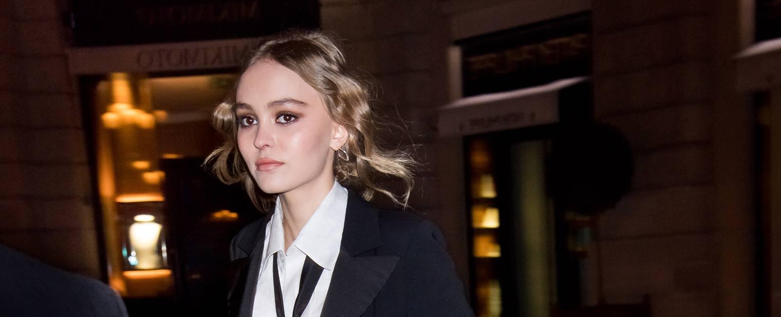 Lily Rose no podría negar que es hija de Johnny Depp