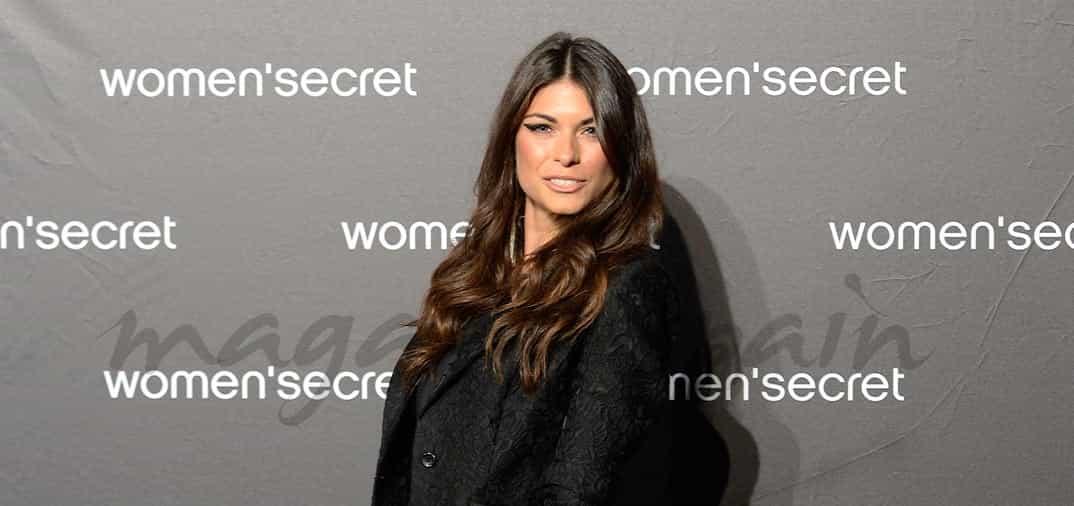 Linda Morselli, la novia de Valentino Rossi, en Madrid