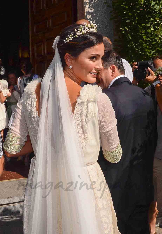 macarena rodriguez boda con lucas vazquez