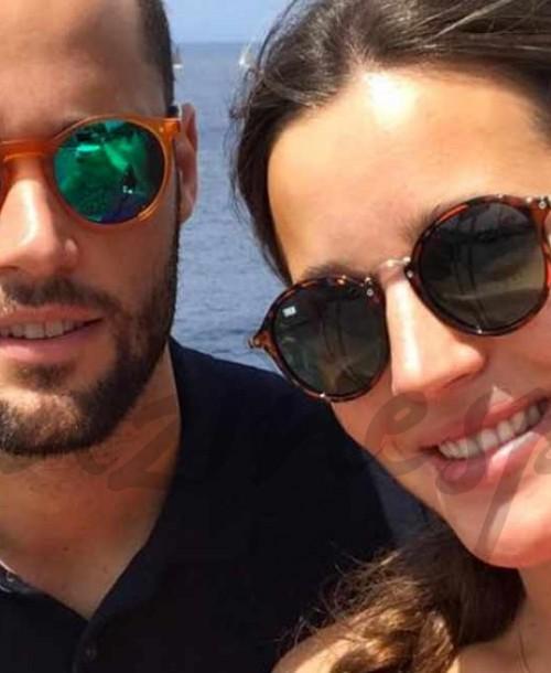 Malena Costa presume de tripa en la recta final de su embarazo