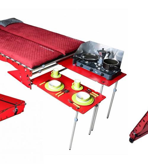 La maleta que transforma tu coche en caravana