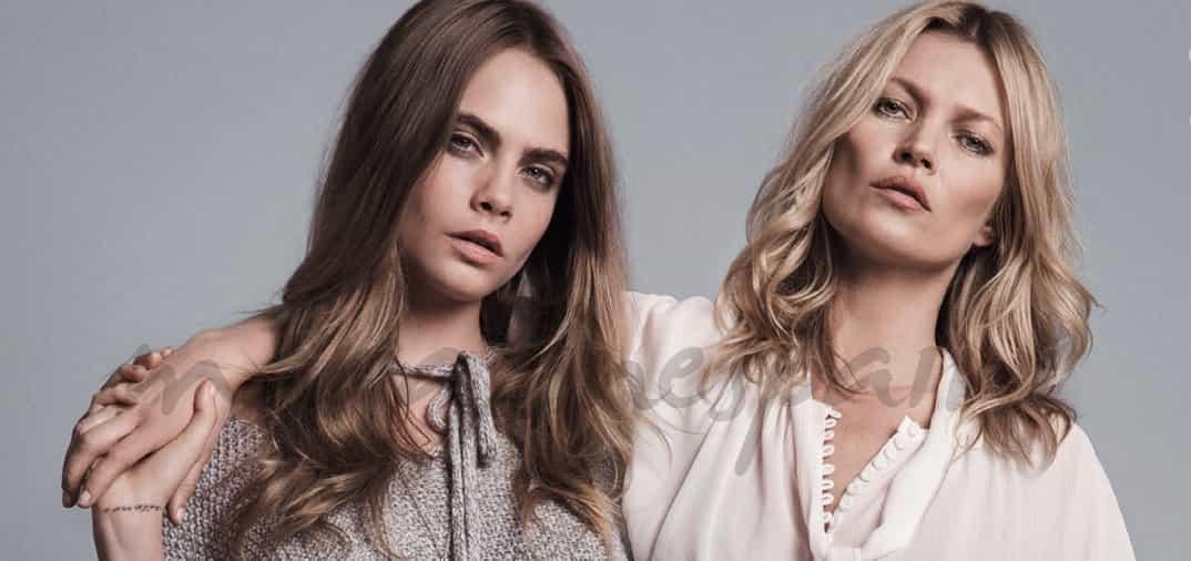 Kate Moss y Cara Delevingne, juntas de nuevo