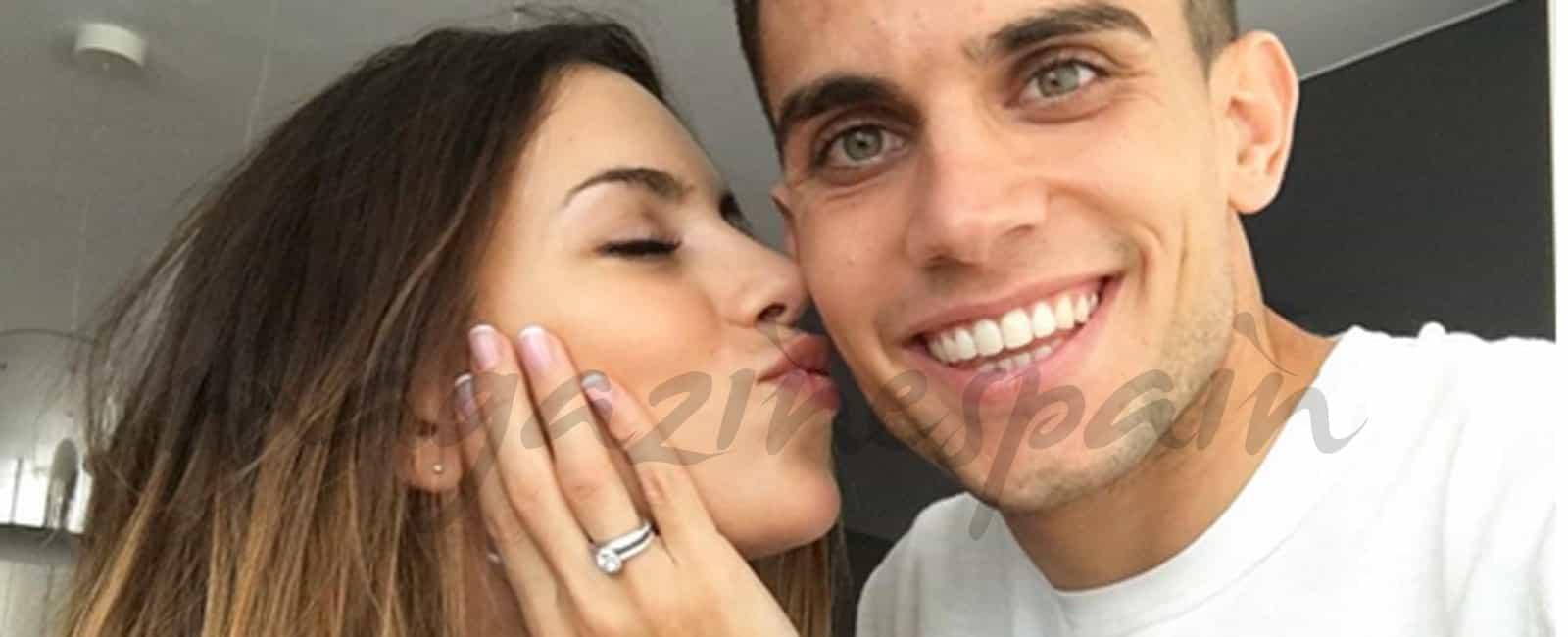 Melissa Jiménez y Marc Bartra ¡se casan!