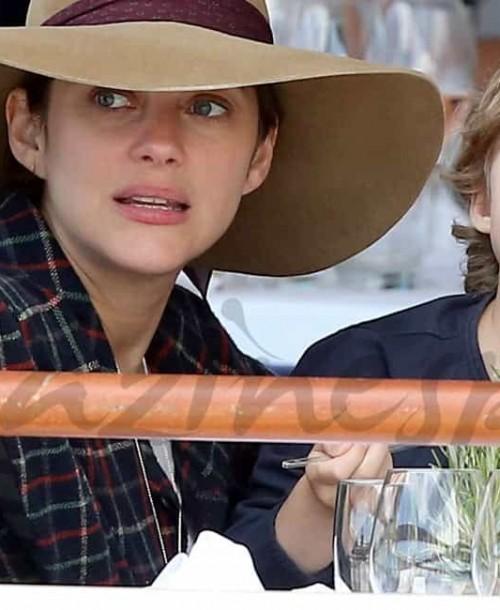 Marion Cotillard confirma su embarazo y niega su romance con Brad Pitt