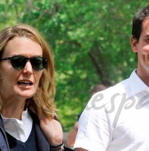 Marta Ortega y Sergio Álvarez, unidos por su hijo Amancio