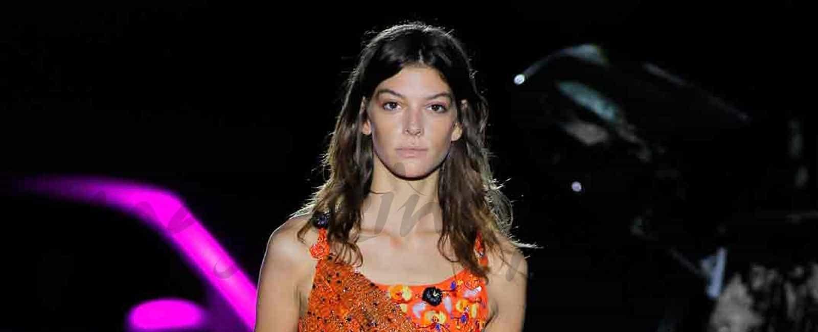 Marta Ortiz, la modelo más destacada de MBFWM