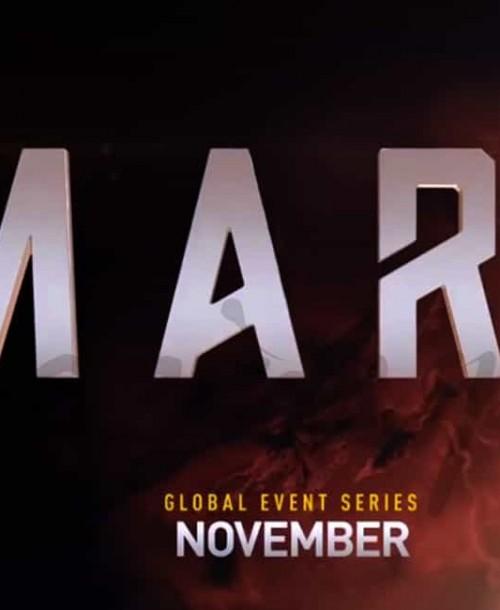 "National Geographic Channel celebra sus 15 años con ""Marte"""