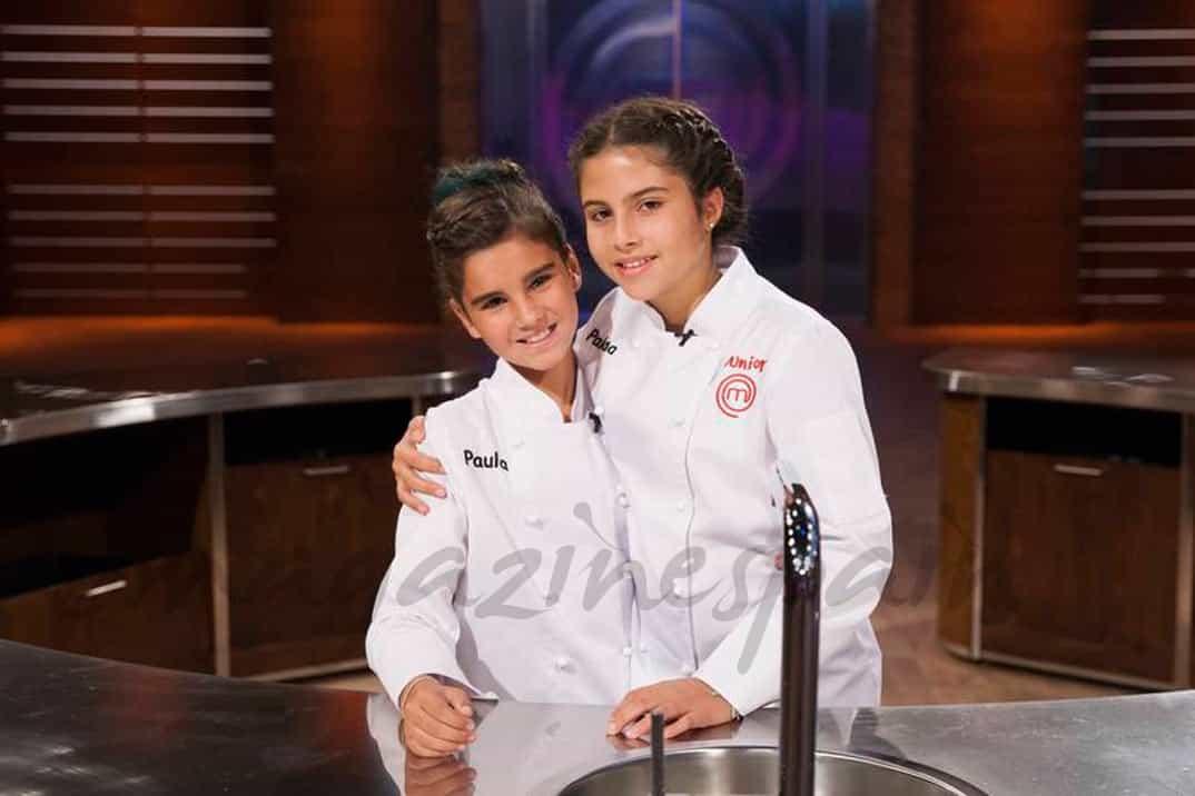 Paula y Paloma - MasterChef Jr. 4 -© RTVE