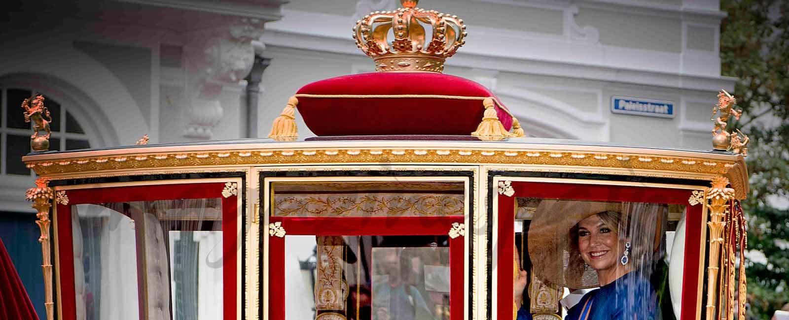 La reina Máxima, espectacular en la apertura del Parlamento Holandés