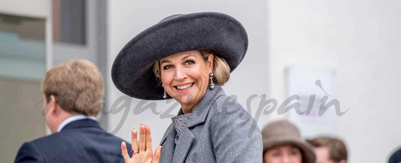 Los Reyes de Holanda siguen los pasos de sus antepasados en Alemania