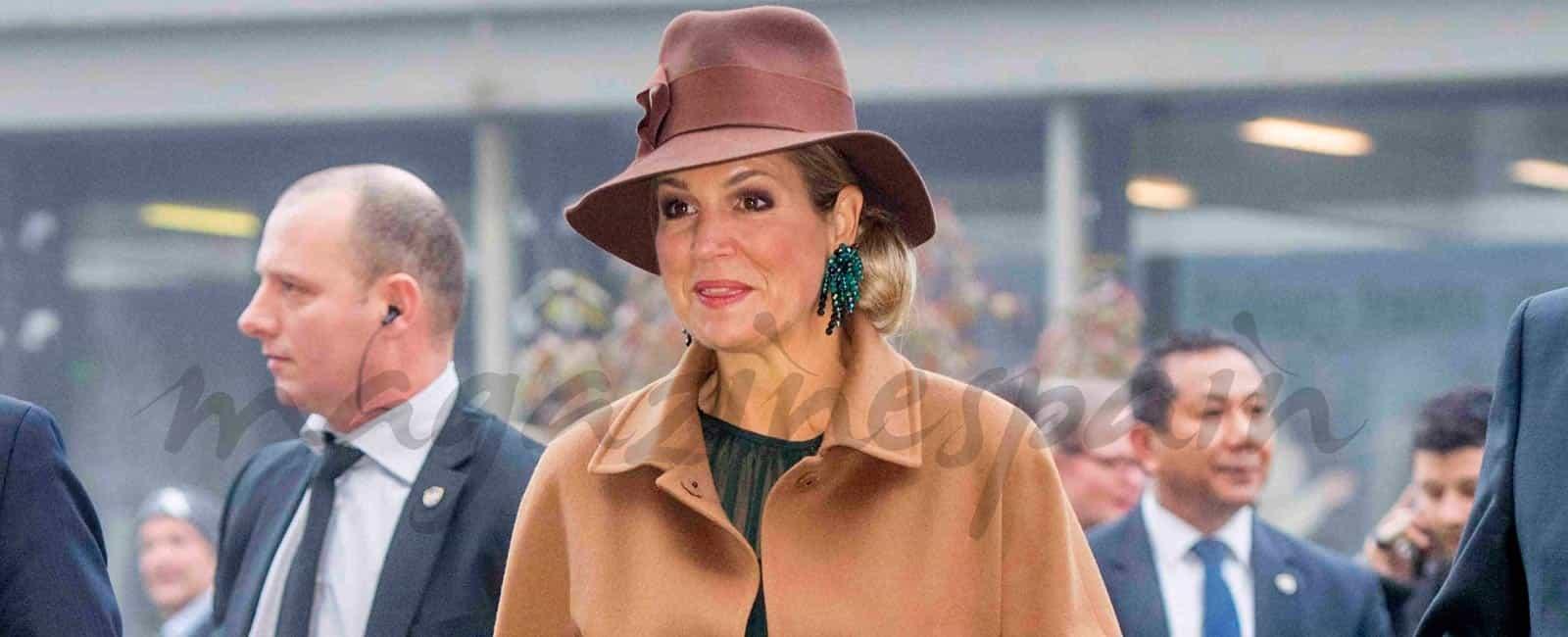 Una nueva lección de estilo de la reina Máxima de Holanda