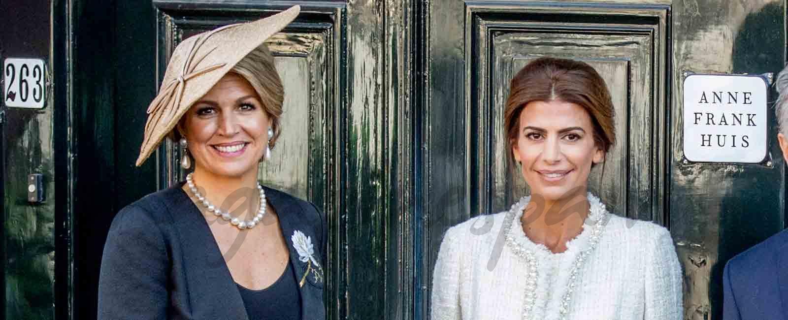 Máxima de Holanda y Juliana Awada compiten en elegancia