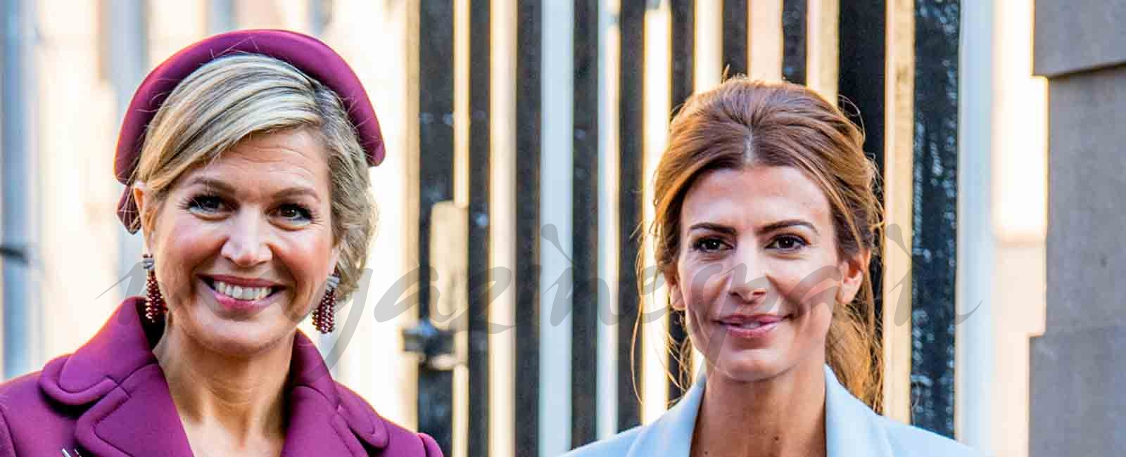 Máxima de Holanda y Juliana Awada, la elegancia de dos damas argentinas