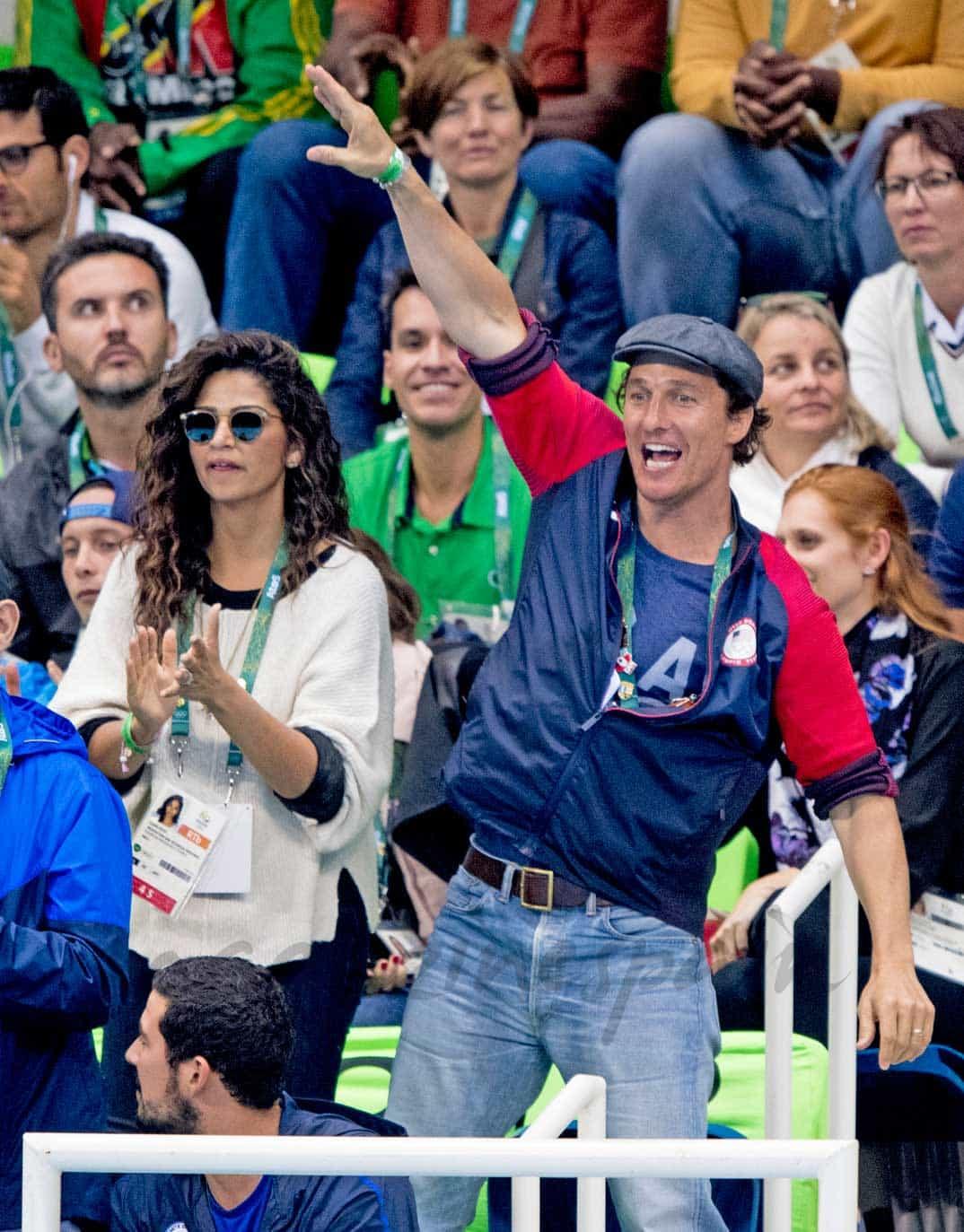 Mattew McConaughey en Río 2016