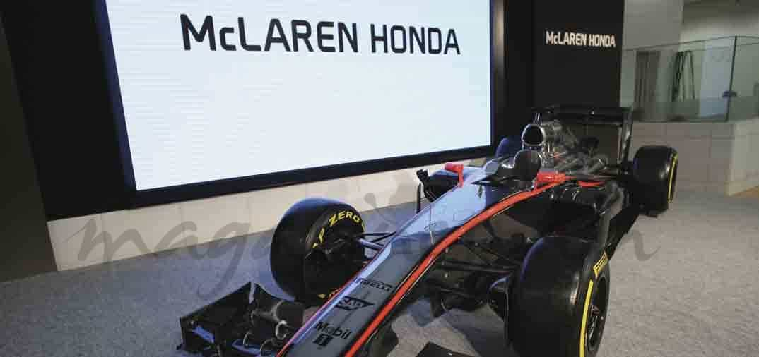 McLaren Honda presenta en Tokio el MP4-30