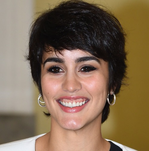 La actriz española, Megan Montaner, triunfa en Italia