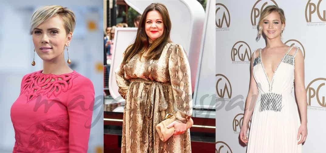 Las tres actrices mejor pagadas del mundo