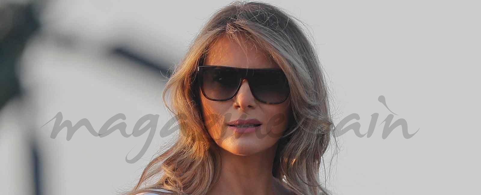 Melania Trump apuesta, de nuevo, por la moda española