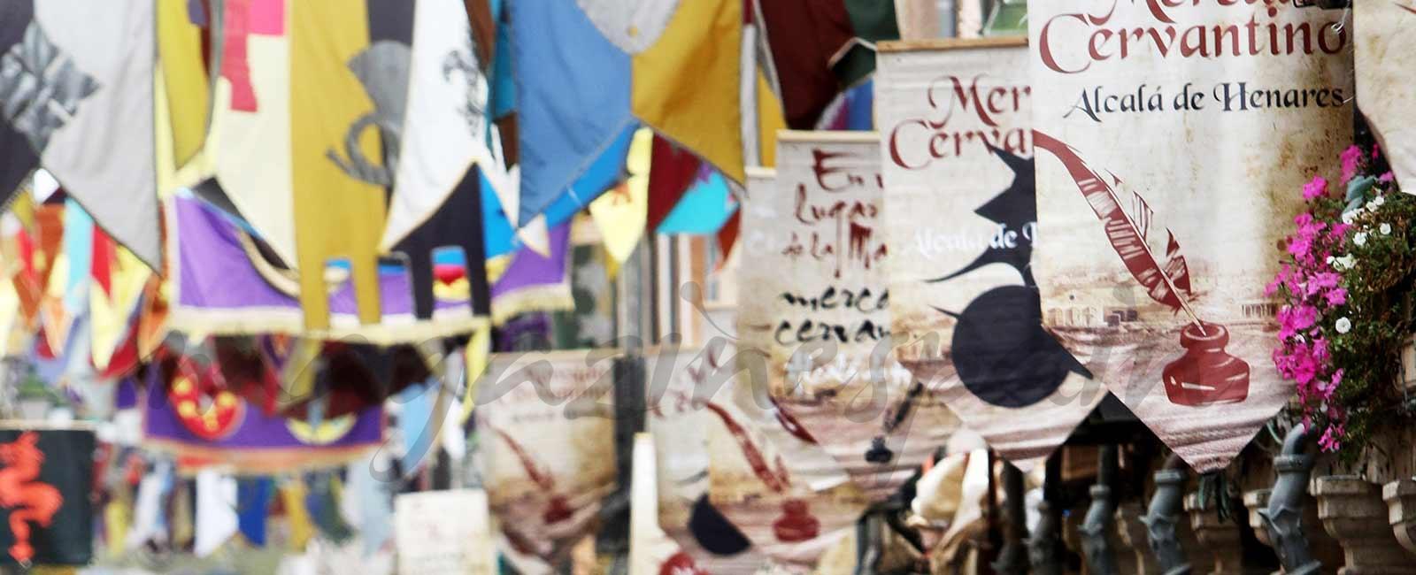 Mercado Cervantino de Alcalá de Henares – Vídeo