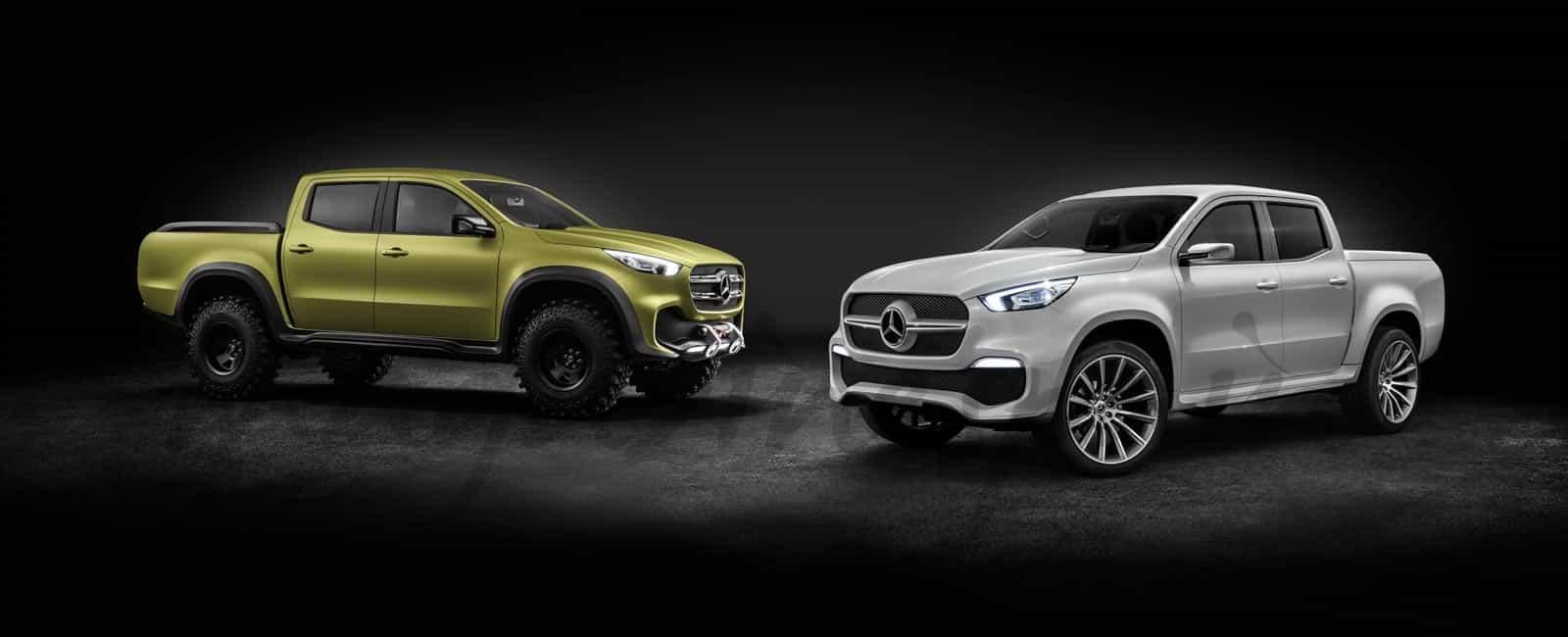 ¿Conoces la Pickup Concept X Class de Mercedes- Benz?
