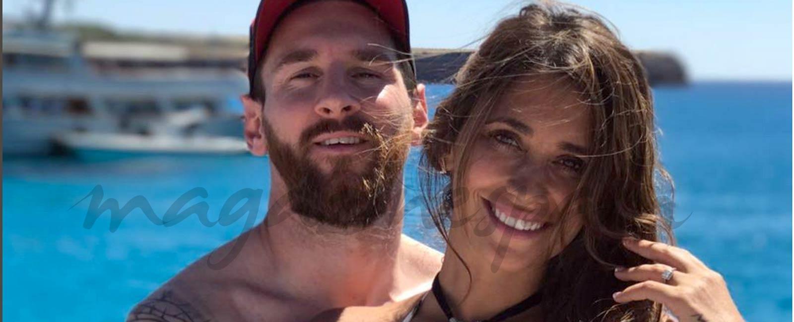"""A pocos días de su boda… Leo Messi despide a su """"wedding planner"""" y se divierte en Ibiza"""