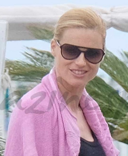Michelle Hunziker vacaciones en familia