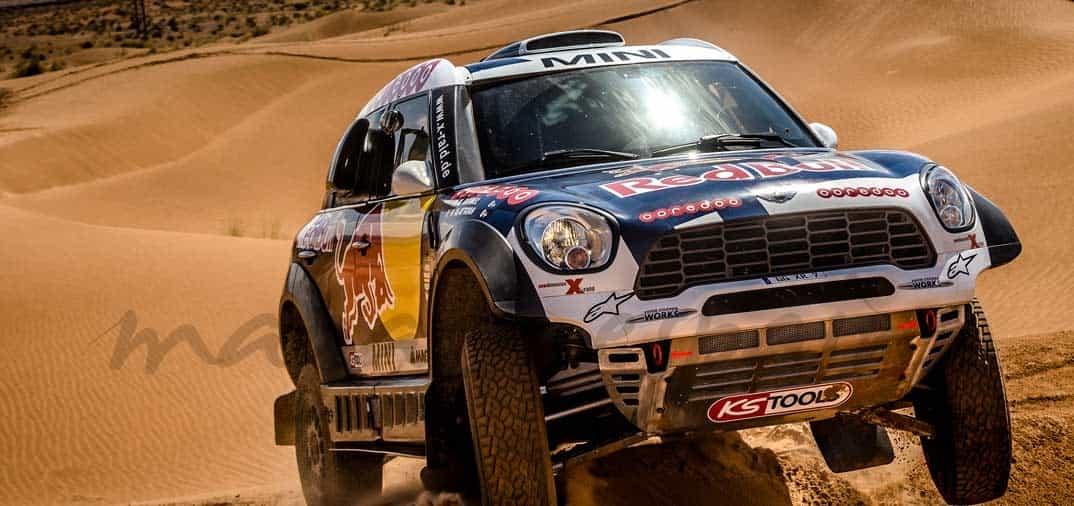Así son los «Mini» del Rally París Dakar