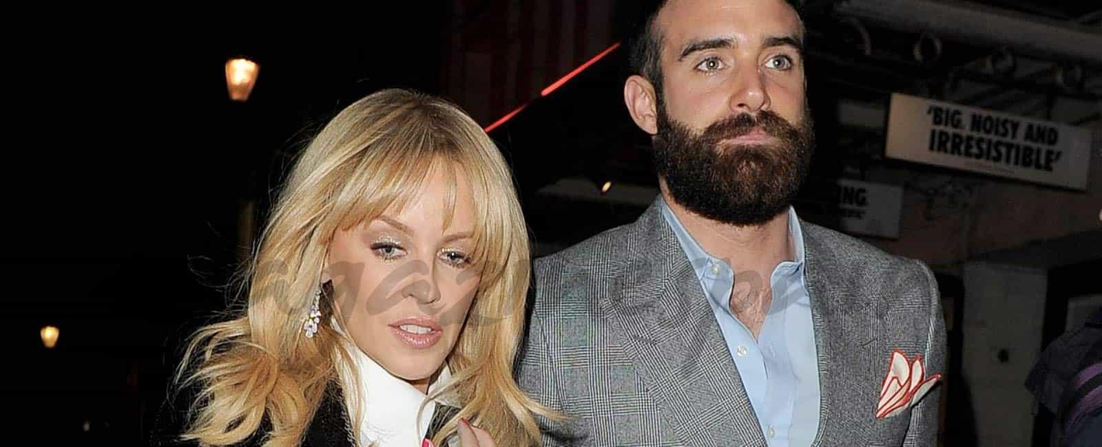 Kylie Minogue rompe su compromiso con Joshua Sasse… ¿Una actriz española el motivo?