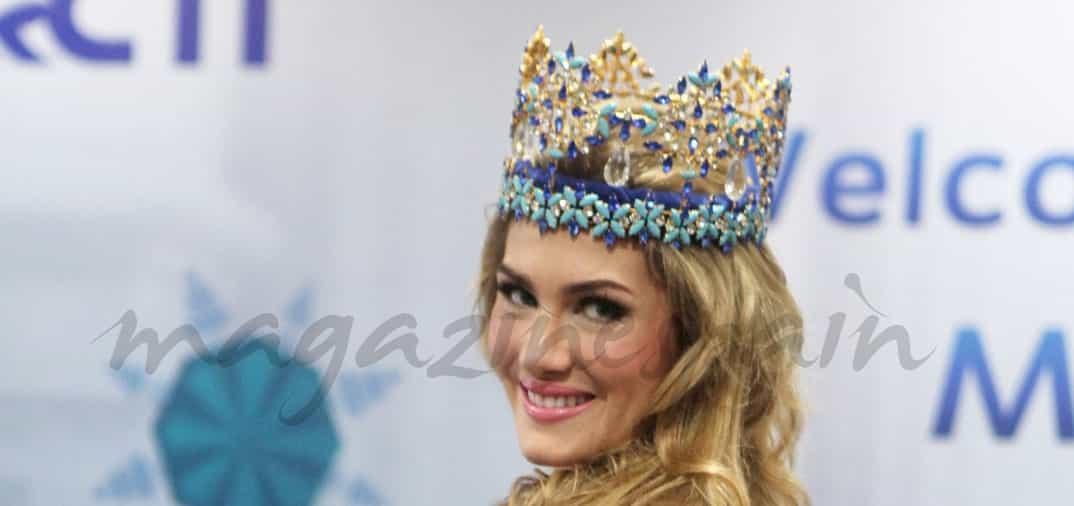Miss Mundo, Mireia Lalaguna, camino a los Oscar
