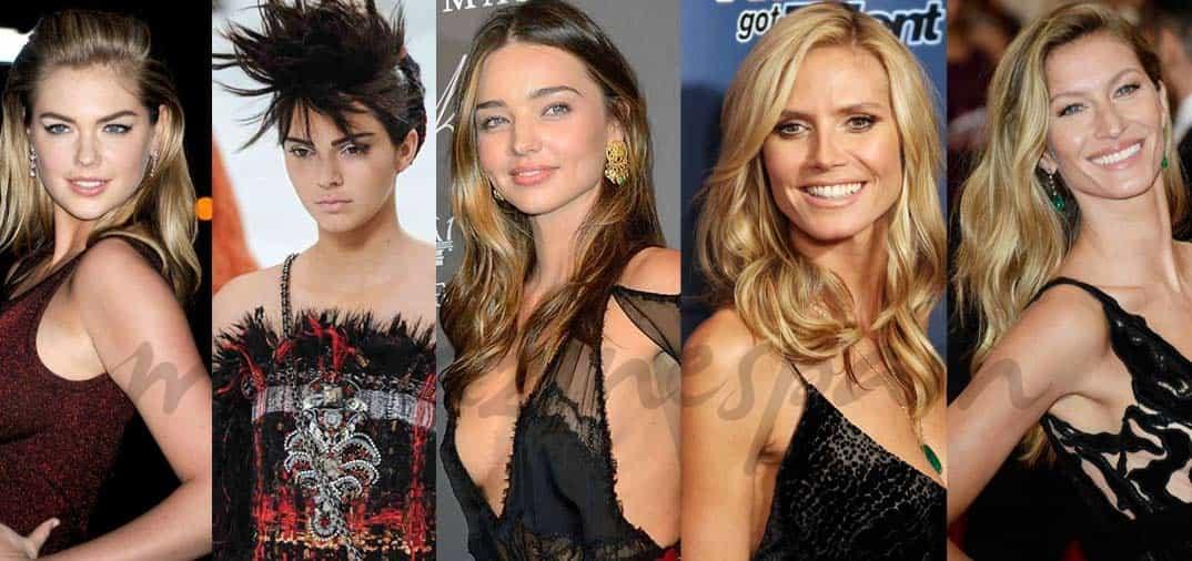 Son las top model más buscadas en las redes
