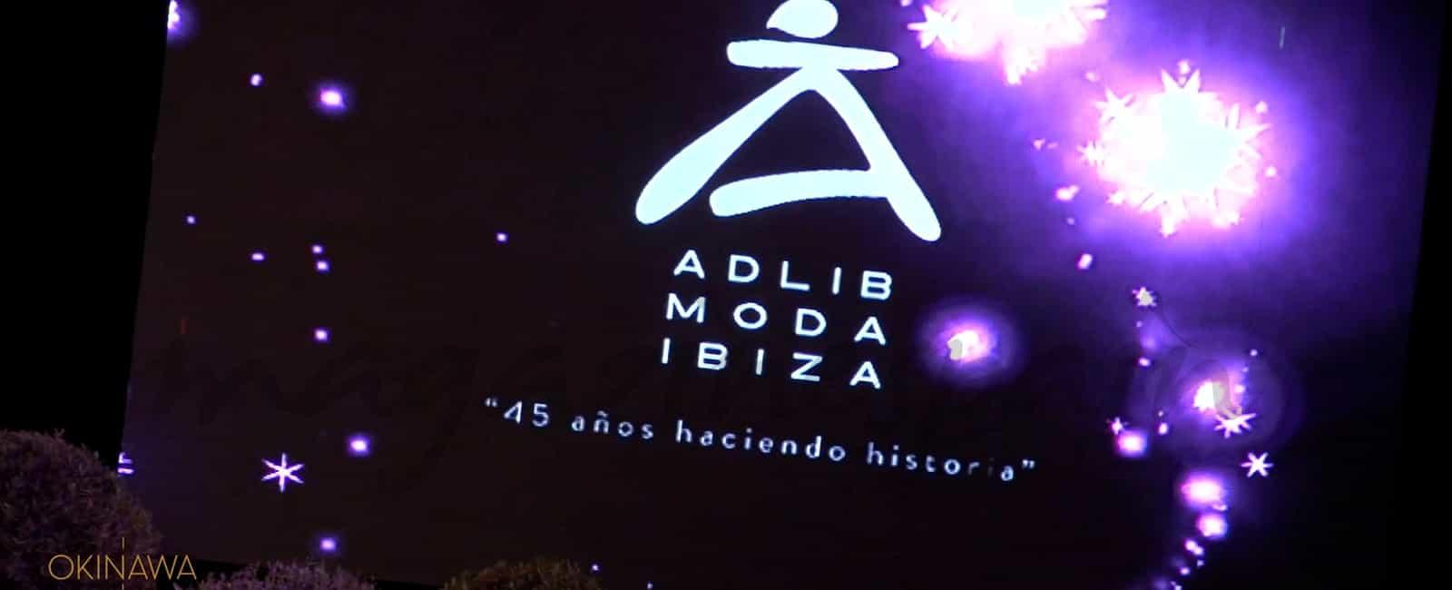 Fran Larrañaga en la Pasarela ADLIB Ibiza 2016