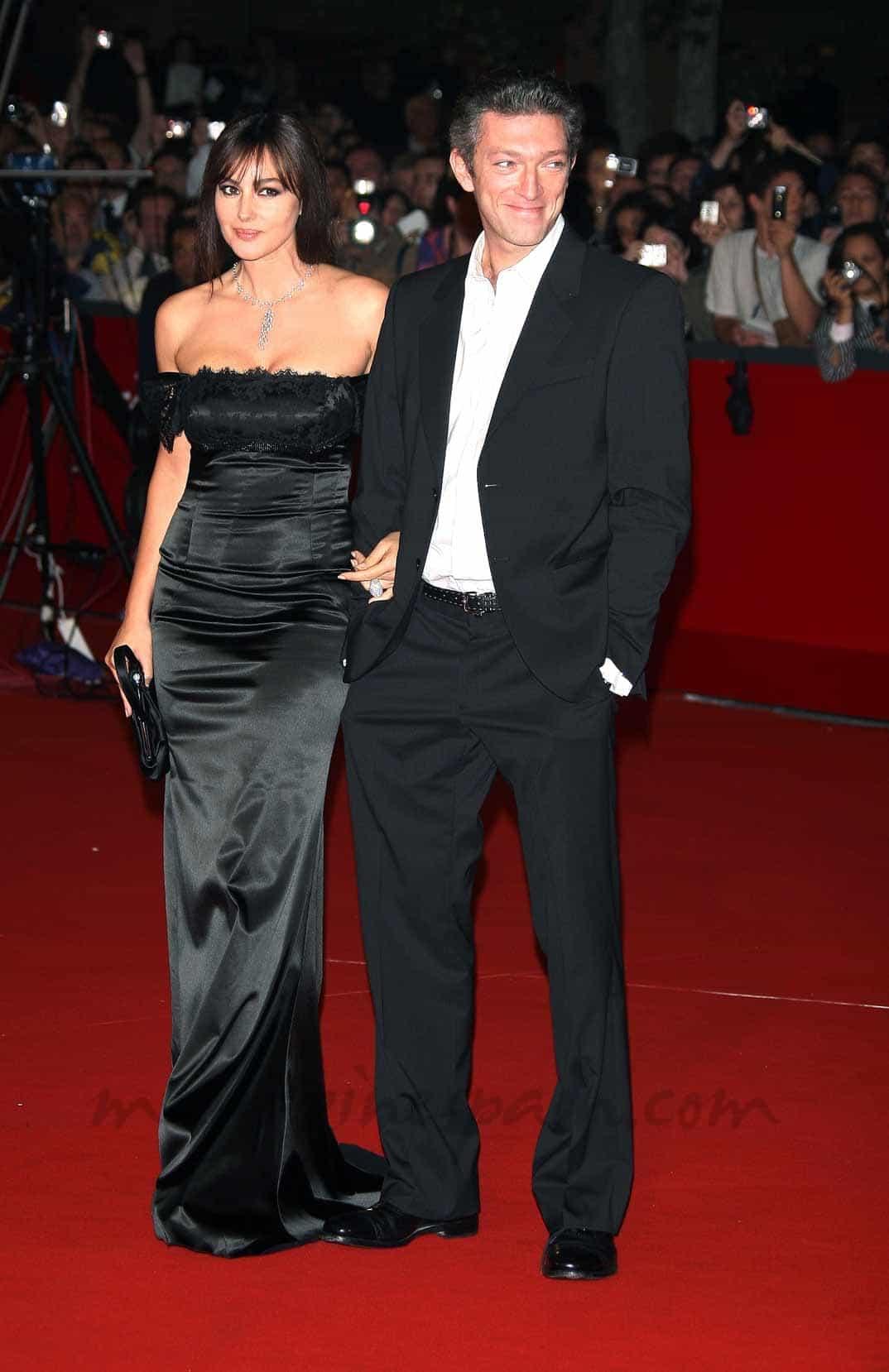 Mónica Bellucci y Vincent Cassel