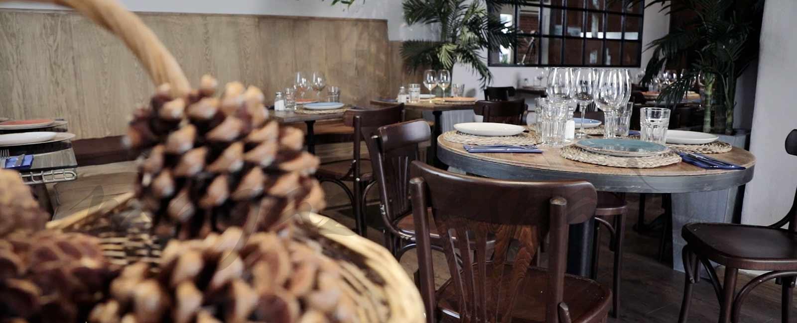 Fran Larrañaga y un restaurante con mucho encanto, «Moshing»