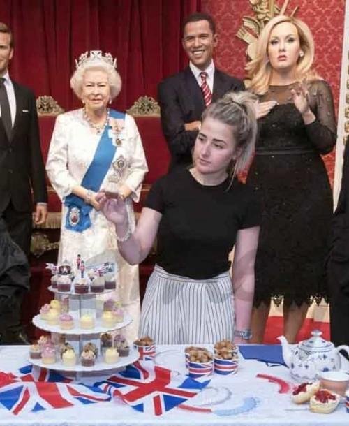 El museo Madame Tussauds celebra el 90 cumpleaños de la reina Isabel II