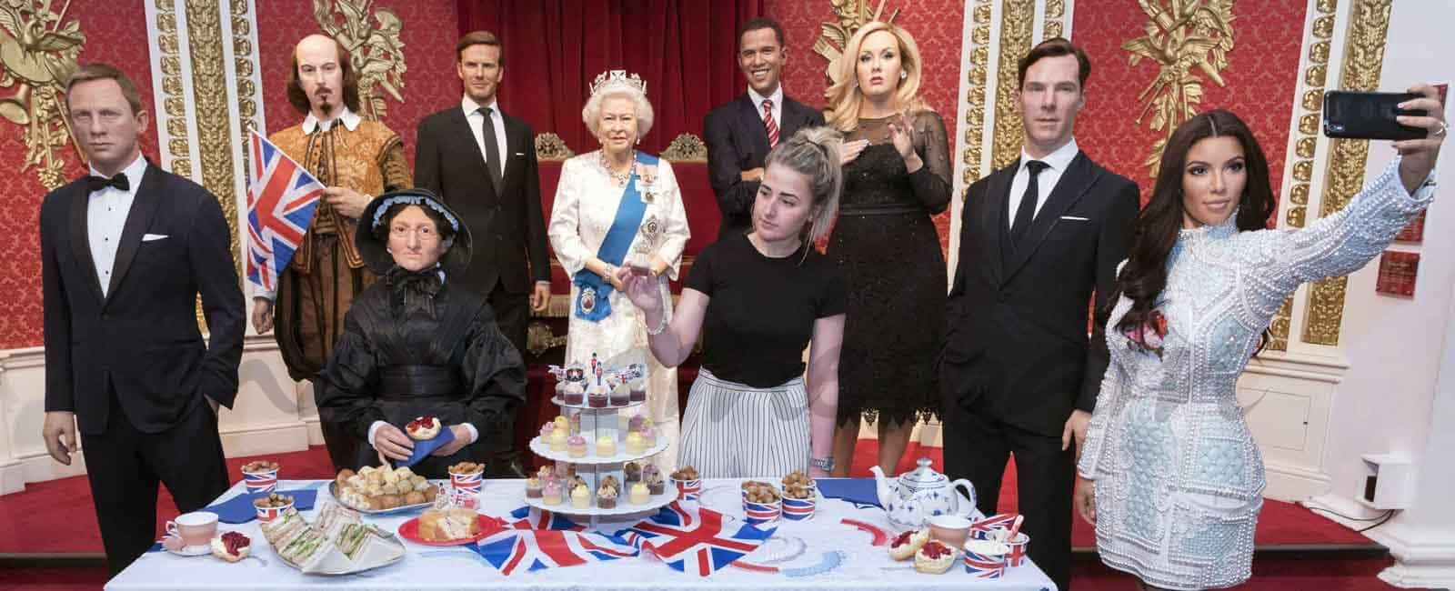 museo-madame-tussauds-londres celebra el cumpleaños de la reina isabel de inglaterra