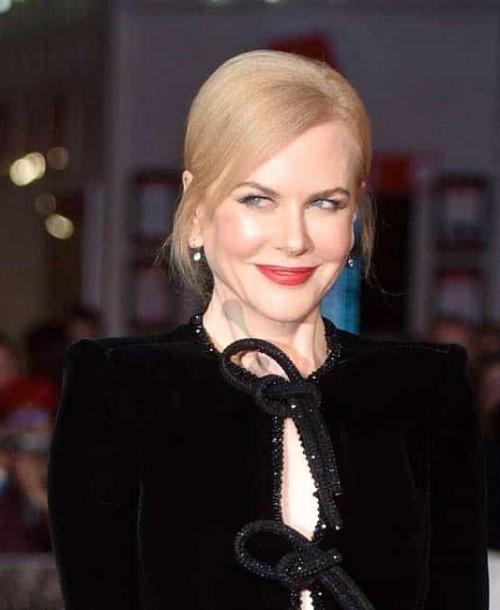 Nicole Kidman, el glamour de Hollywood, camino a los Oscar