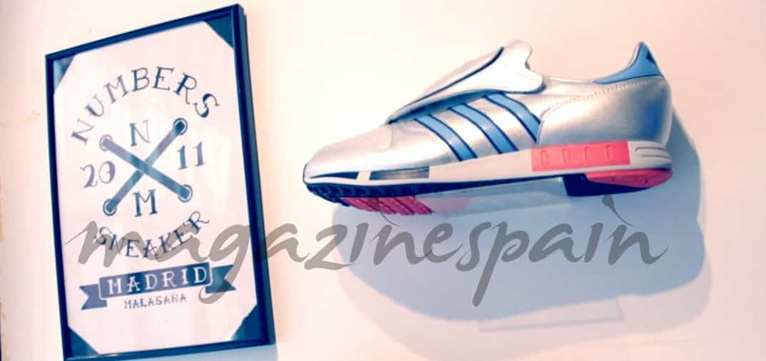 Fran Larrañaga con las sneakers de moda