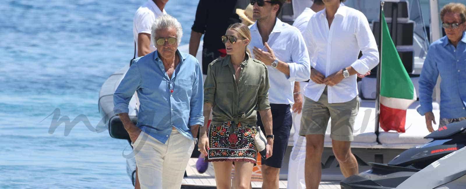 Olivia Palermo y su marido Johannes Huebl, invitados por Valentino