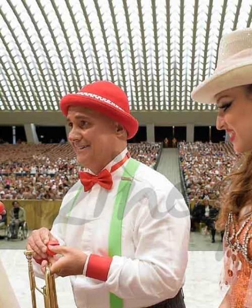 Susto del Papa Francisco