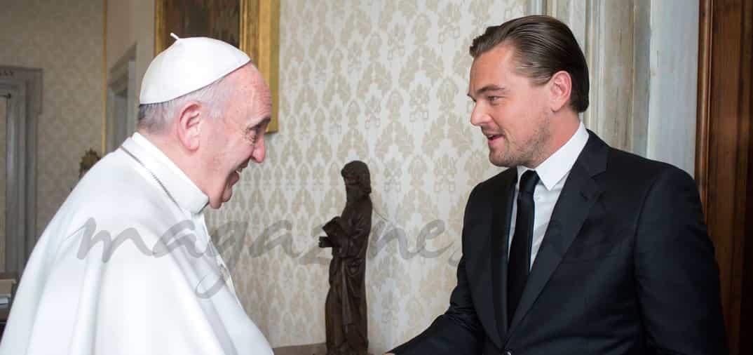 El Papa recibió a Leonardo DiCaprio en el Vaticano