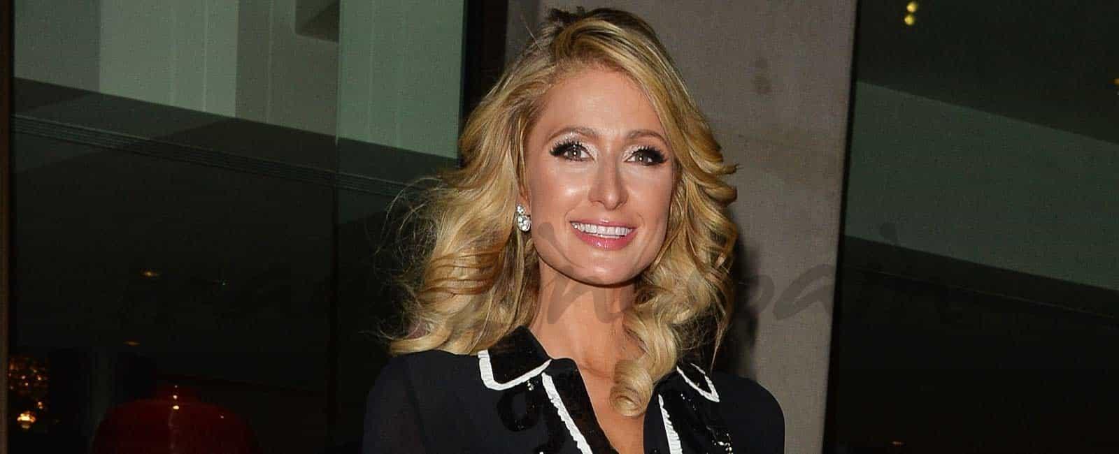 Paris Hilton apuesta por el LBD
