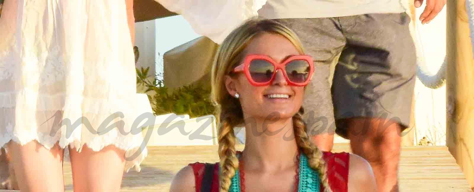 Paris Hilton y su novio Chris Zylka vacaciones en Ibiza